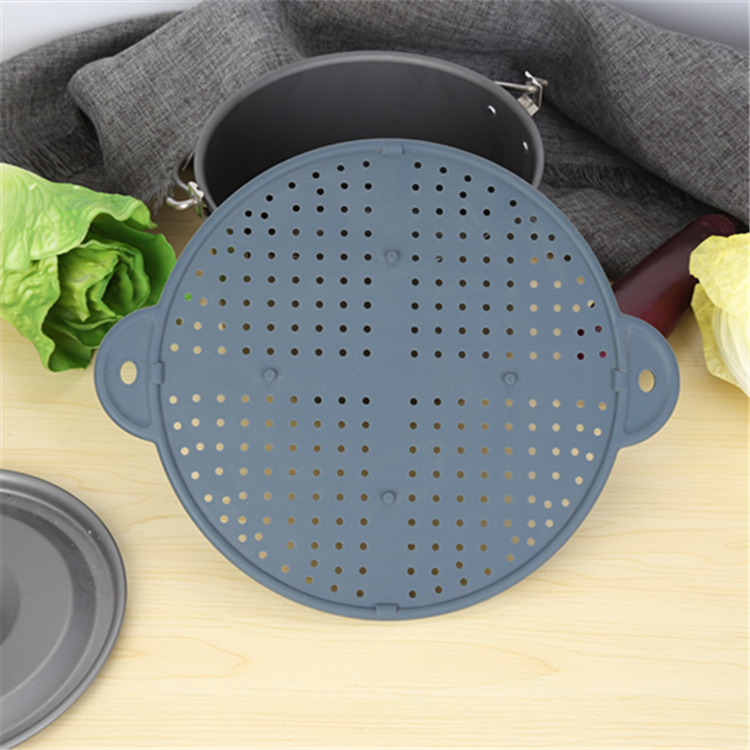 Silicone Splatter Screen Oil Splash Guard For Cooking with Many Holes