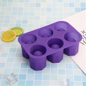 Foldable Food Grade Silicone Gsilicone Ice Cup Molds