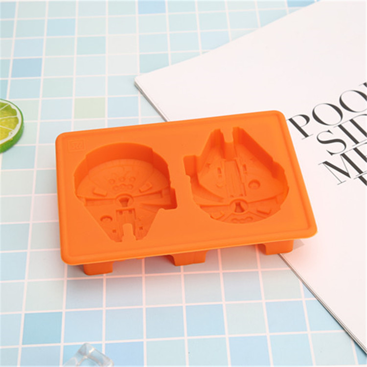 Wholesale Food Grade Silicone Star Wars Cake Molds with Hole