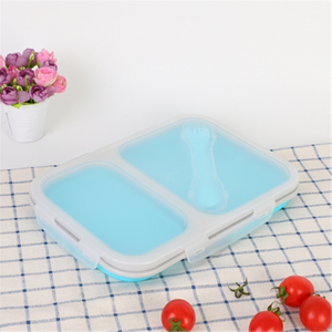 Double-hole Folding Lunch Box